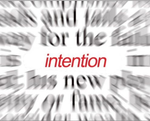 Intention in Recovery